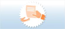 2. Schritt: Angaben mit dem Formular in einer Geschäftsstelle Ihrer Raiffeisenbank Ortenburg-Kirchberg v.W. eG abgeben